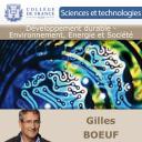 Développement durable - Environnement, Energie et Société - Gilles Boeuf