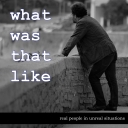 What Was That Like - Scott Johnson