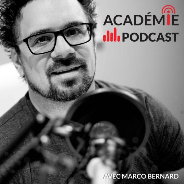 L'Académie du podcast avec Marco Bernard, formateur en podcasting