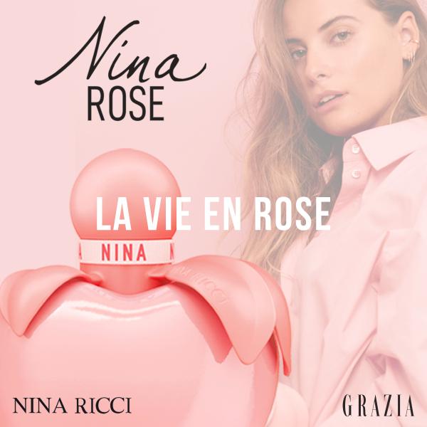 La vie en rose avec Nina Rose de Nina Ricci