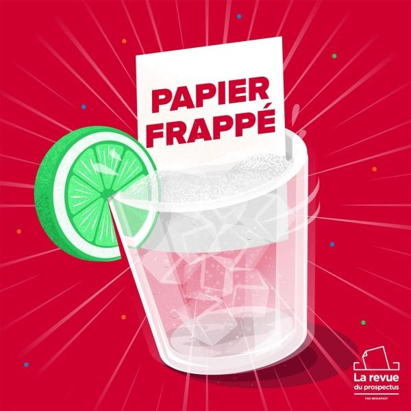 Papier Frappé